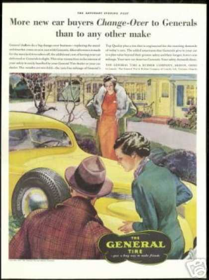 Pretty Women Vintage Art General Tire (1937)