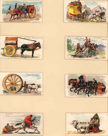 W. Duke Sons & Co.'s Duke's Cigarettes – 50 Vehicles of the World – Image 7