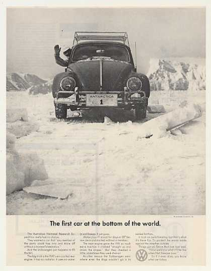 VW Volkswagen Beetle Bug First Car Antarctica (1965)