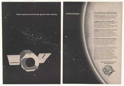 '61 Grumman OAO Orbiting Astronomical Observatory 2P (1961)