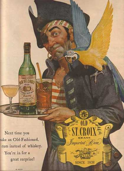 Old St. Croix's Imported Rum (1944)