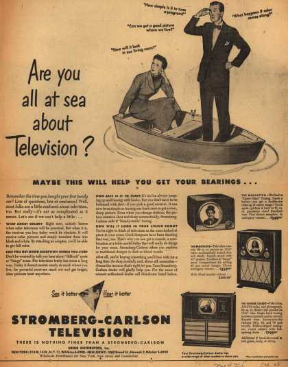 Stromberg-Carlson Television's various – Are you all at sea about Television? (1949)