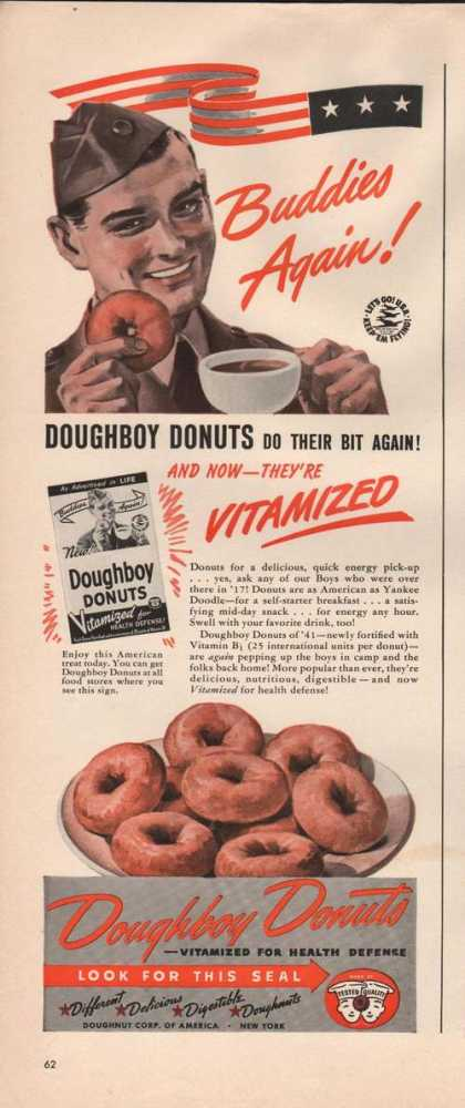 Buddies Again Doughboy Donuts (1941)