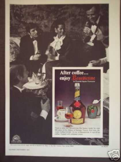 Benedictine D.o.m. French Liqueur (1970)