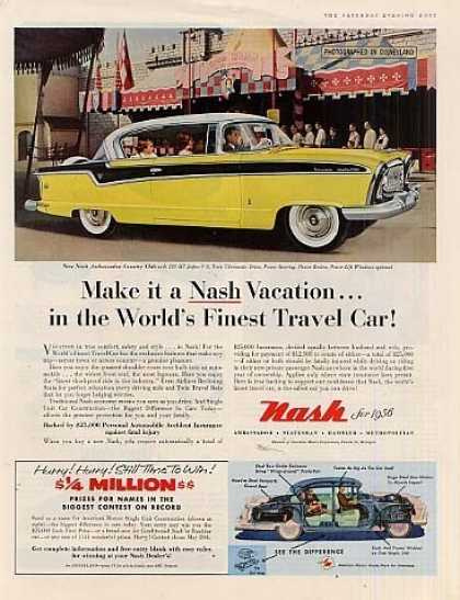 Nash Ambassador Country Club Car (1956)