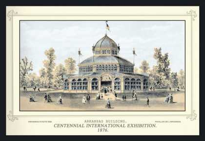 Arkansas Building, Centennial International Exhibition (1876)