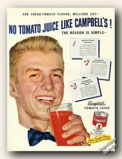 No Tomato Juice Like Campbell's Color (1950)