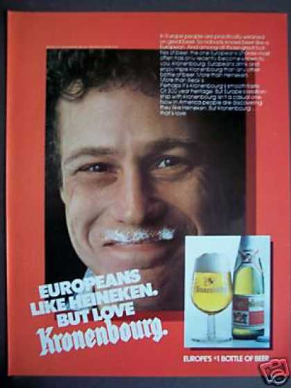 Kronenbourg Europe's #1 Bottle of Beer (1982)