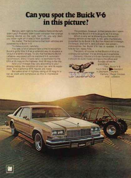 Buick Car – LaSabre – Gold (1976)