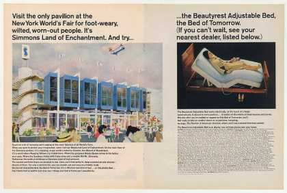 Simmons Beautyrest Bed New York World's Fair (1964)