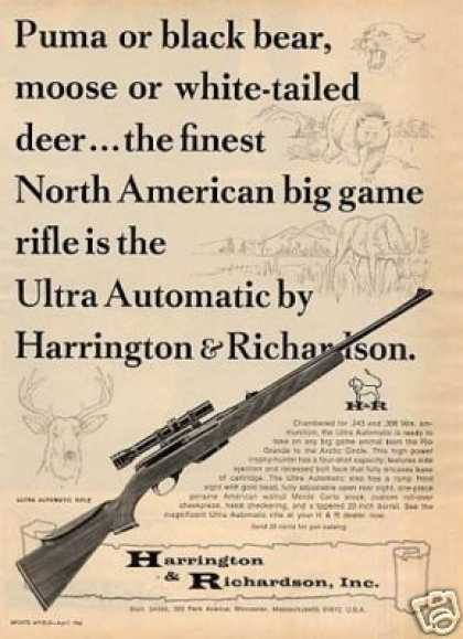 Harrington & Richardson Ultra Automatic Rifle (1966)