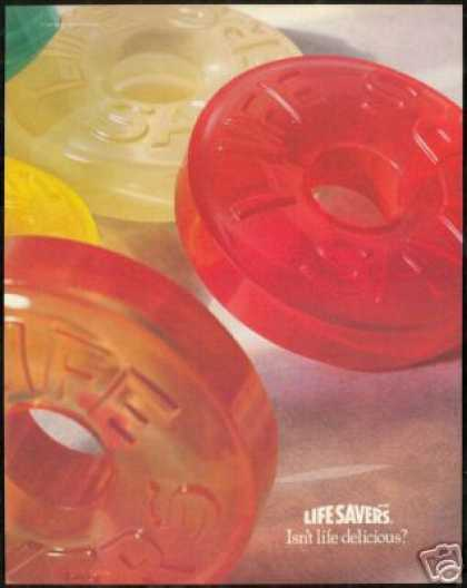 Big Life Savers Delicious Colored Candy (1991)