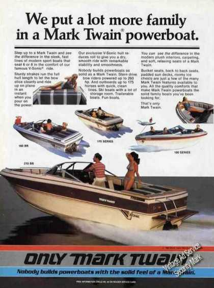 Mark Twain Powerboats Color (1985)