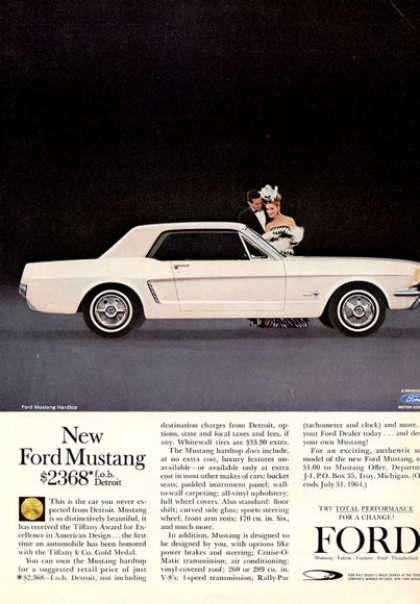 Ford Mustang White Hardtop (1964)