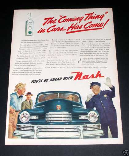 Nash, Thing In Cars, Cop (1946)