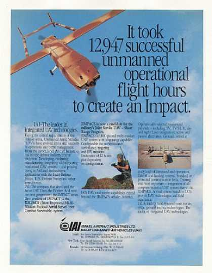 IAI IMPACT JIMPACS UAV Unmanned Aerial Vehicle (1989)