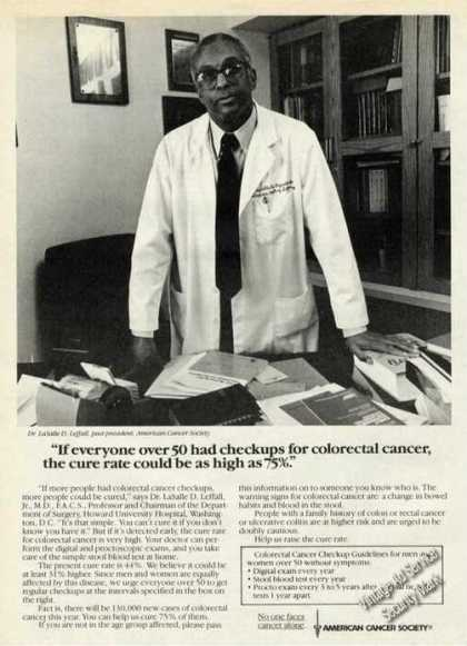 American Cancer Society Colorectal Screening Promo (1985)