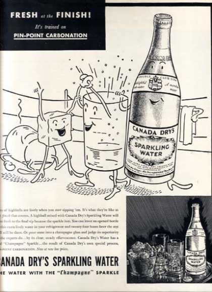 Canada Dry's Sparkling Water (1937)