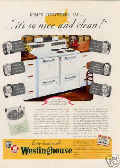 Westinghouse Electric Range (1937)