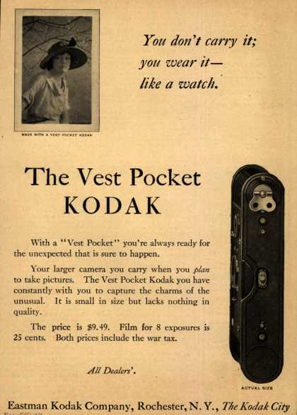 Kodak – The Vest Pocket Kodak