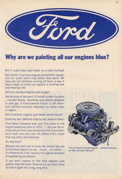 Ford Engine Blue Print (1966)
