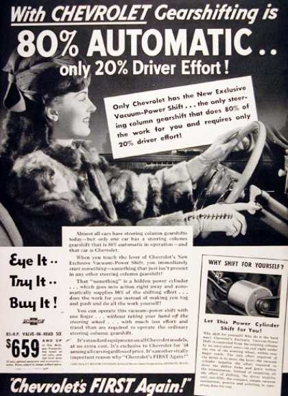 Chevrolet Power Gear Shift (1940)