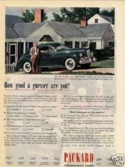Packard Clipper Car (1946)