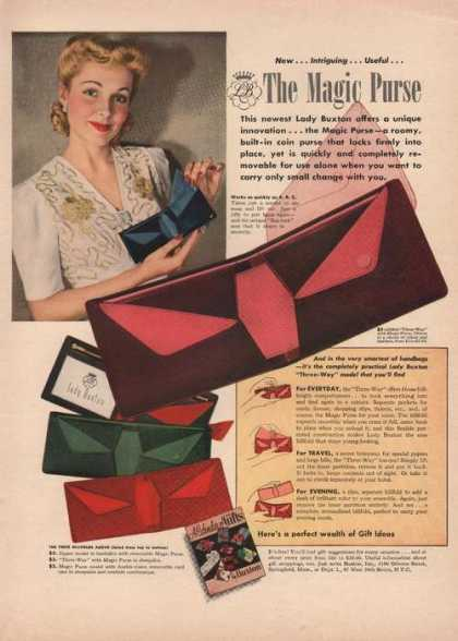 The Magic Purse for Women (1941)