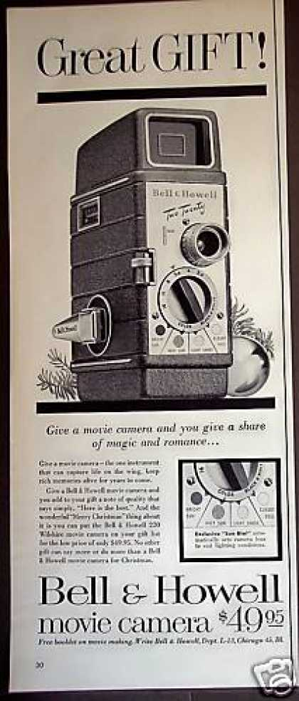 Bell & Howell 220 Movie Camera (1954)