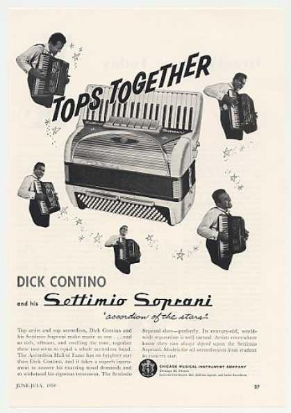 Dick Contino Settimio Soprani Accordion (1958)