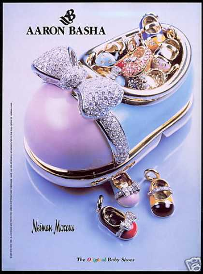 Aaron Basha Baby Shoes Jewelry Photo NM (1999)