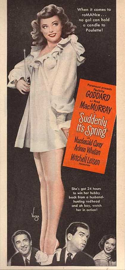 Suddenly It's Spring (Paulette Goddard, Fred MacMurray) (1947)