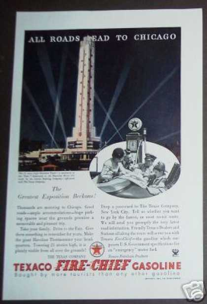 Chicago World's Fair Texaco Fire-chief (1934)
