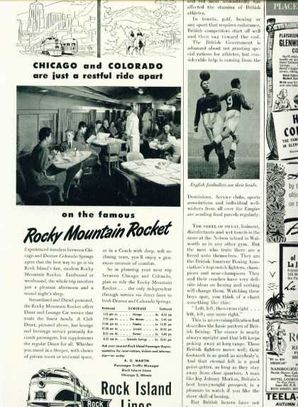 Rock Island Lines Rocky Mountain Rocket C (1948)