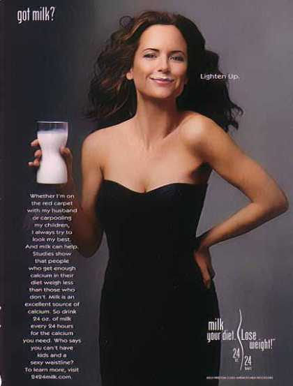 Kelly Preston &#8211; GOT MILK (2004)