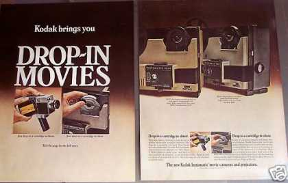 Kodak Movie Cameras & Projectors (1970)