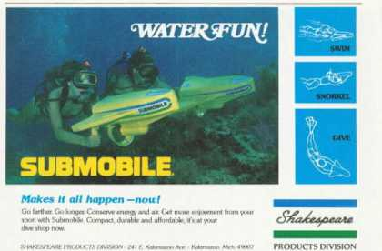 Submobile Underwater Propulsion System Scuba Ad T (1978)