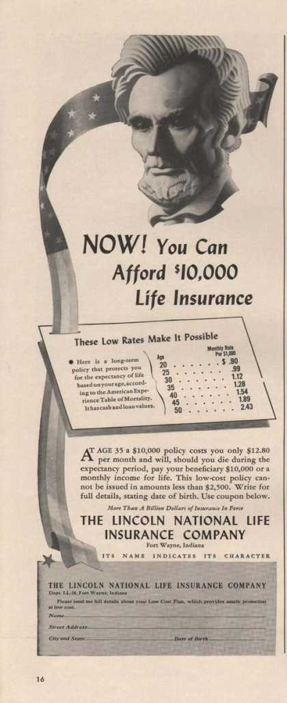 Lincoln National Life Insurance Company (1942)
