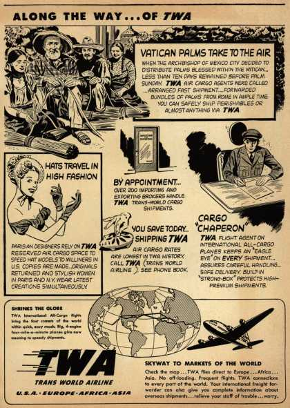 Trans World Airline's Aircargo – Along The Way... of TWA (1948)