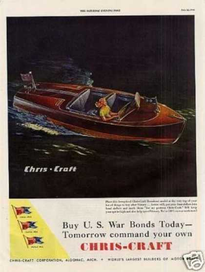 Chris-craft Runabout Boat (1944)