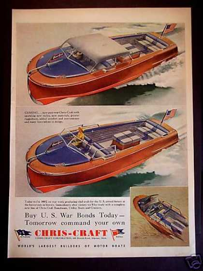 Chris-craft Motor Boats (1943)