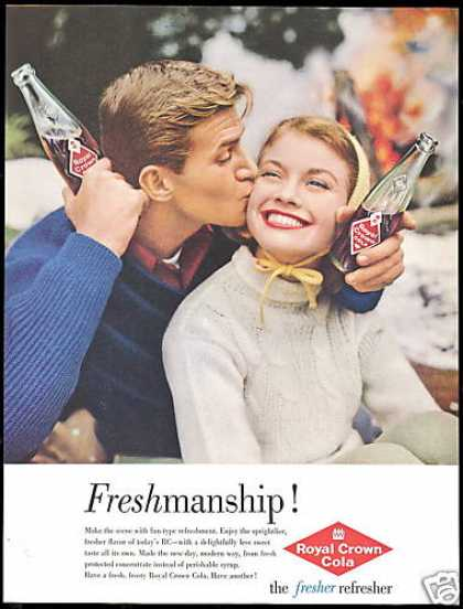 Royal Crown Cola RC Freshmanship Photo (1960)