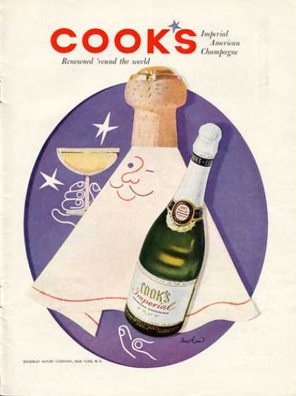 Cook's Imperial Champagne Bottle (1956)