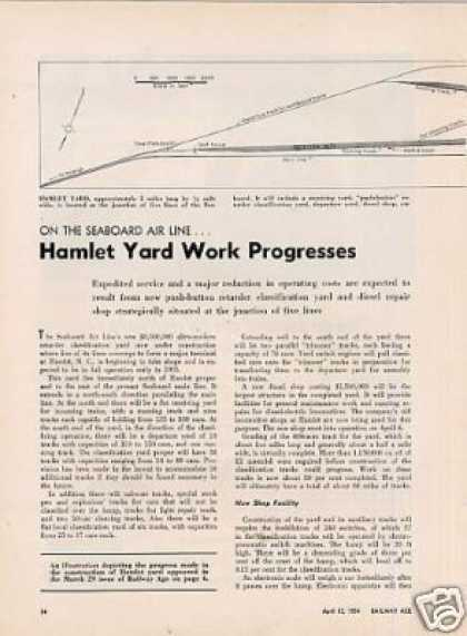 """Hamlet Yard Work Progresses""Arti (1954)"