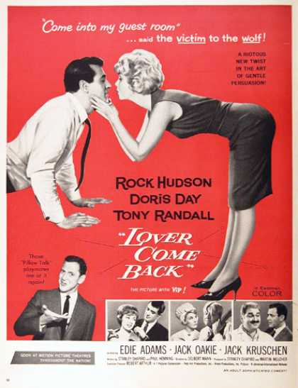 """Lover Come Back"" (1962)"