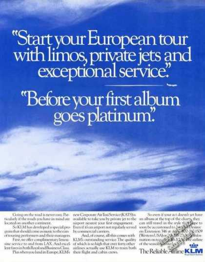 Klm Royal Dutch Airlines Music Theme Advertising (1988)