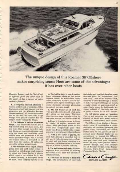 Chris Craft Roamer Offshore Yacht (1964)