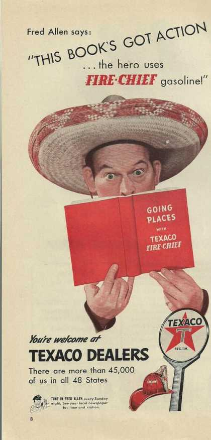 Texaco Dealers Fire Chief (1942)