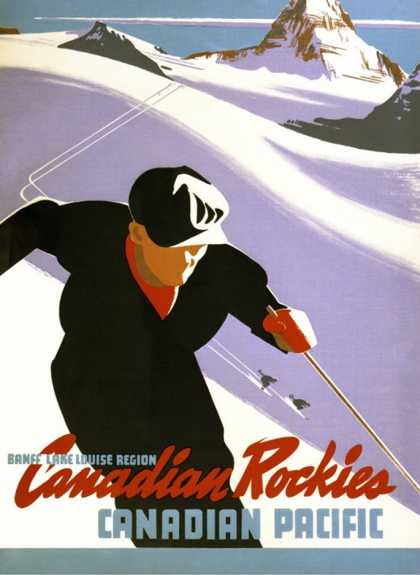 Canadian Pacific Rockies Snow Ski