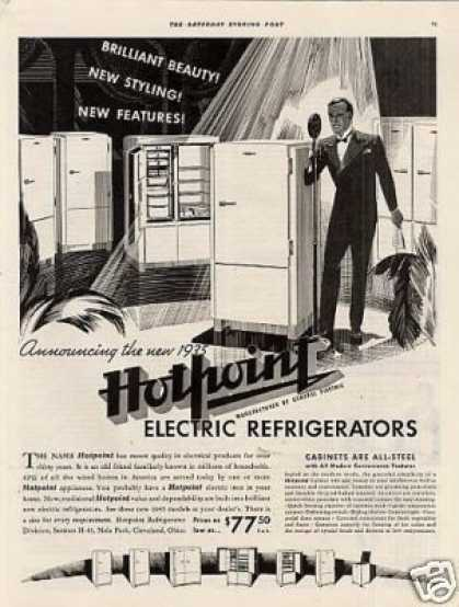 Hotpoint Electric Refrigerator (1935)